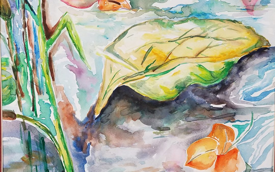 Watercolor Inspiration: by guest artist, Margaret Myers