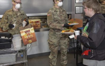 Published Work: Colorado soldiers aid homeless as part of COVID-19 mission