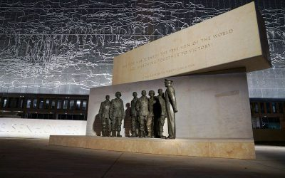 "Published Work: New Eisenhower Monument, ""is the best piece of evidence America works."""